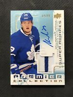 2016-17 UPPER DECK PREMIER WILLIAM NYLANDER SUPER ROOKIE AUTO PATCH #ed 4/99
