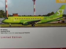 1/400 Herpa S7 Airlines Embraer E170 - VQ-BBO 562645