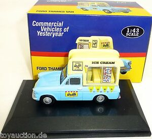 Ford Thames Van Walls Ice Cream 1:43 Atlas 4421101 New Boxed LG4 Μ