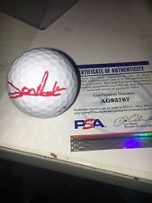 John Rahm Signed Titleist Golf  Ball PSA DNA