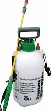 8 Litre Garden Knapsack Weedkiller Chemical Pressure Sprayer 8L
