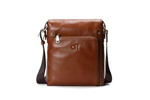 Leather Shoulder Messenger Bag   CLEARING AT COST!