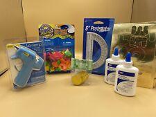 Teacher Supplies glue Balloons Protractor Glue Gun