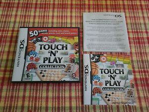 """Touch """"N"""" Play Collection - Authentic - Nintendo DS - Case / Box and Manual Only"""