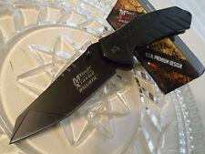 Mtech Xtreme Ballistic Assisted Black Titanium HD Pocket Knife 440C MX-A837BK