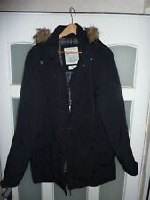Top Winter Jacke TOM TAILER Fellkragen XL 56  dunkelblau schwarz NP 198€