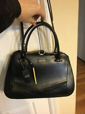 Cromia Genuine Leather Golden Hardware New Medium Satchel Bah Made In Italy