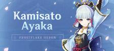 (NA) America Kamisato-Ayaka Genshin Impact Rank 7-11 Starter Account