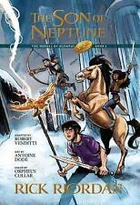 The Heroes of Olympus, Book Two, The Son of Neptune: The Graphic Novel by Riord