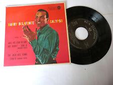 "HARRY BELAFONTE""BANANA BOAT-disco 45 giri EP(4 brani) RCA It 1962"" PERFECT"