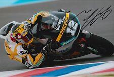 Thomas Luthi Hand Signed 12x8 Photo Interwetten Kalex Moto2 2015 MOTOGP 11.