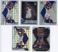 (5) 2019 Optic Mosaic Select Eric Paschall Silver Holo RC ROOKIE Lot