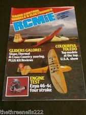 RCM&E - ENYA 46-4C FOUR STROKE - JULY 1985