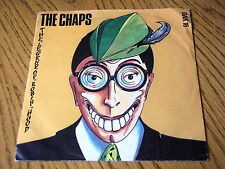 "THE CHAPS - THE LEGEND OF ROBIN HOOD   7"" VINYL PROMO PS"