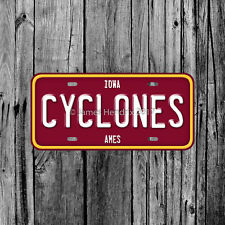 Iowa State University Cyclones Ames License Plate