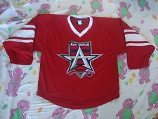 RARE Allen Americans Minor League Hockey CHL Sewn Jersey Adult Size S