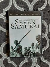 Seven Samurai Dvd/1954 Marital Arts/Toshiro Mifune/Yoshio Inaba/Criterion Collec