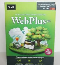 WebPlus X5 PC by Serif Website Design Software