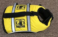 Size XS PET DOG NEOPRENE LIFE VEST Lifejacket Body Glove Flotation Device Yellow