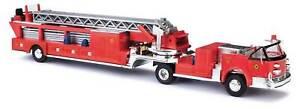 Busch (HO) #46031 1968 LaFrance Hook & Ladder Open Cab Fire Truck - NIB