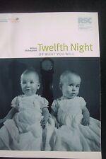 BARBICAN THEATRE (London), TWELFTH NIGHT, William Shakespeare, R.S.C.  2001/2