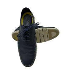 Cole Haan Mens Size 11 Zerogrand Navy Ink Leather Wingtip Oxfords C20753 H15