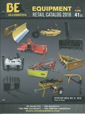 Farm Catalog - Braber Equipment - Implements Attachments - 2016 Canada (F7154)