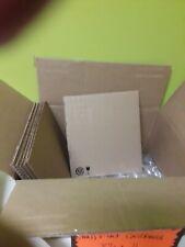 "100 8.5x11 Corrugated Cardboard Pads Inserts Sheet 32 ECT 1/8"" Thick 8 1/2 x 11"