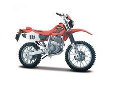 Honda XR 400R Rojo Escala 1:18 Modelo de Motocicleta Von Maisto
