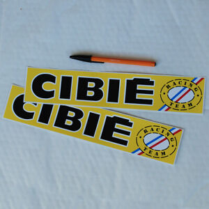 Cibie Racing Team 1 pair stickers decals 300mm L. rally Alpine Renault A110 A310