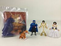 Disney Aladdin King Of Thieves Mcdonalds Figure 5pc Lot Toys Wedding Jasmine