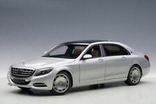 1/18 AutoArt - Mercedes Maybach S-Class S600 (SWB) (Silver) 2015 (Composite Mod