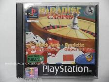Complet jeu PARADISE CASINO playstation 1 ps1 ps one en francais spiel juego TBE