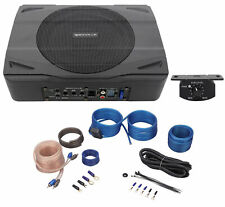Rockville SS8P+RWK10 400W Under Seat Powered Car Subwoofer with Amplifier