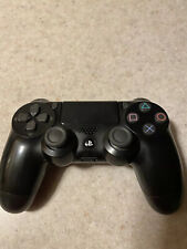 Sony PlayStation 4 DualSchock 4 Wireless Controller Jet Black 10037 Working USED
