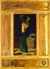 Franz von Stuck 21 Salome Platte 50x68 TÄNZERIN EKSTASE TANZ BÜHNE HALSKETTE