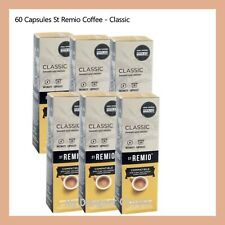 60 Capsules St Remio Classic Coffee Capsule Pod Caffitaly System Intensity 8