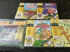 Lot Set 5 New Sealed My First LeapPad Frog Leap Pad Books And Cartridges