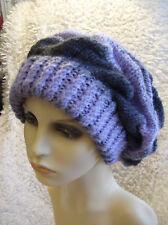 Ebony Slouchy - Unisex Hat - Easy Chunky Knitting Pattern