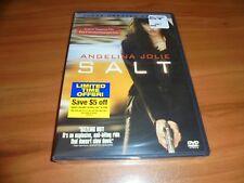 Salt (DVD, 2010, Unrated; Deluxe Widescreen) Angelina Jolie NEW