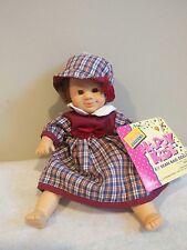 "Gi-Go Palm Pal Doll Happy Kids 8.5"" Bean Bag Doll with Tag"