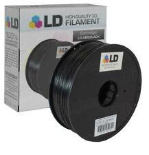 Black 3D Printer Filament 1.75mm ABS PLA PETG TPU 1kg 2.2lb For RepRap MakerBot