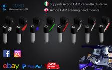 Supporto GoPro moto cannotto di sterzo Steering head mount BIKE Action CAM