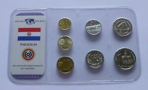Paraguay coin set - Various years, The money of the World
