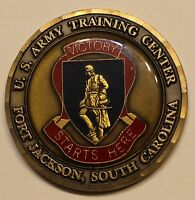 US Army Training Center Ft Jackson SC Command Sergeant Major Army Challenge Coin