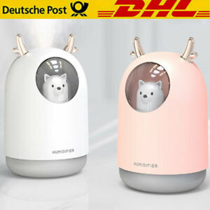 Luftbefeuchter LED Licht Ultraschall Duftöl Aroma Diffuser Humidifier Diffusor