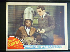 1940 LAUGHING AT DANGER - GREAT MANTAN MORELAND LOBBY CARD - BLACK AMERICANA