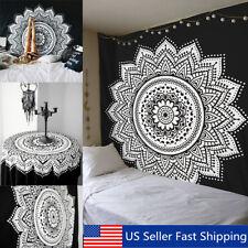 Geometric Ethnic Mandala Tapestry Wall Hanging Mat Boho Yoga Blanket Bedspread