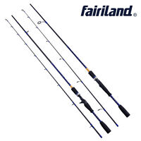 Fairiland1.98m/2.1m L/UL high carbon casting/spinning fishing rod with cloth bag