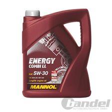 [5,20€/L] 5 LTR MANNOL SAE 5W30 ENERGY COMBI LL MOTORÖL VW 504.00 VW 507.00